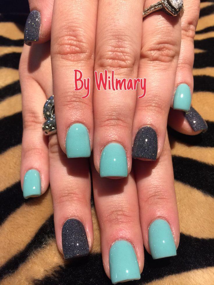 SNS nails (dipping powders) @  Angel Nail Spa #2 (407)870-7770