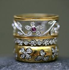 Cathy Waterman creates the most beautiful jewelry I have ever seen.