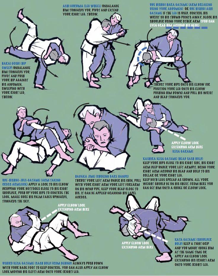Some random Judo techniques