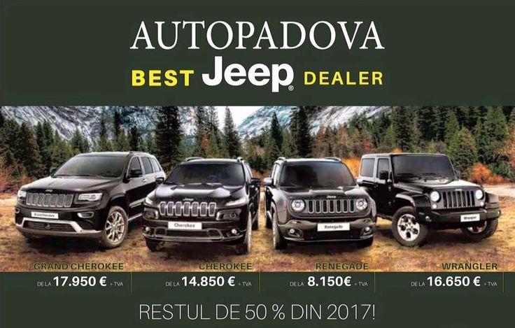 Autopadova Iasi. Best Jeep Dealer Romania