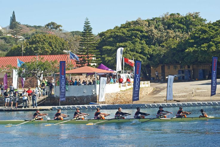 'Boat Races' - the inter varsity rowing champs on the Kowie River - another 'B' to add to DOCKPRO's versatility