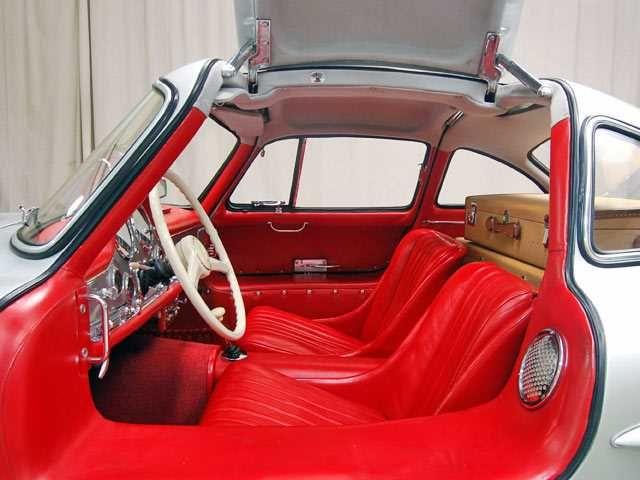 1954 Mercedes Benz 300sl Gullwing Interior 1 View In 2020