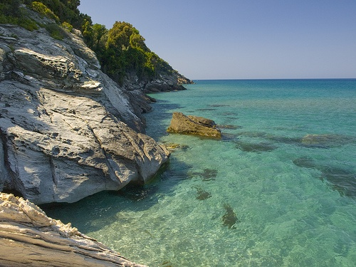 Horefto beach, Pelion, Greece by John Georgiou, via Flickr. Vacation 2015