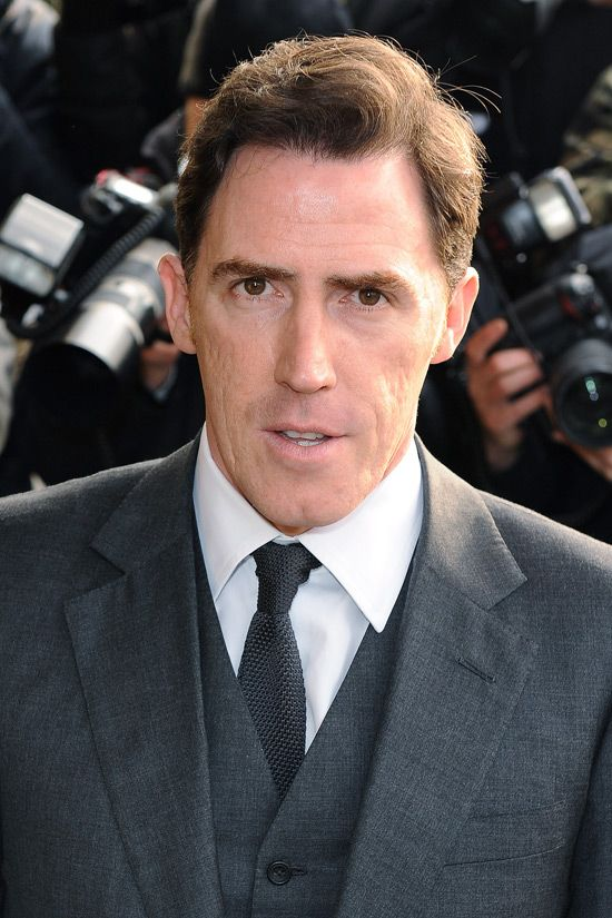 Rob Brydon, worked with, extremely funny.