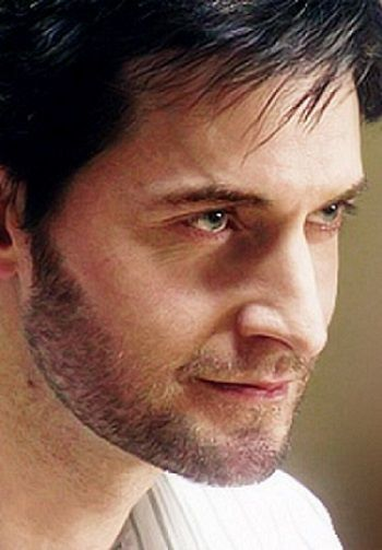 "Richard Armitage - This is from ""Moving On"". He is such a stinker here, but so lovely. In real life, could she have walked away?"