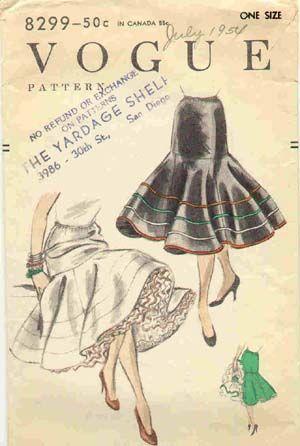 [ Anos 50 - Moda Feminina
