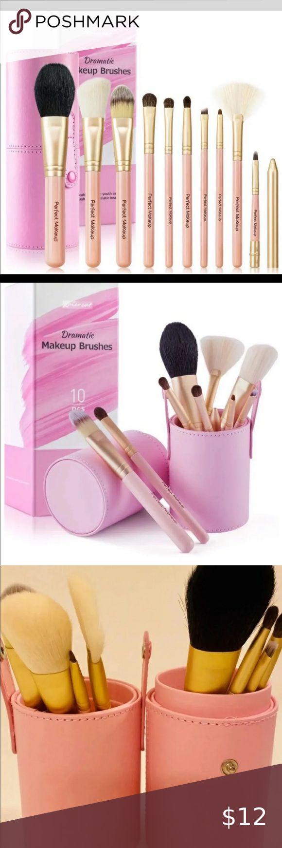 Travel Makeup Brush Set Travel Makeup Brush Set Natural