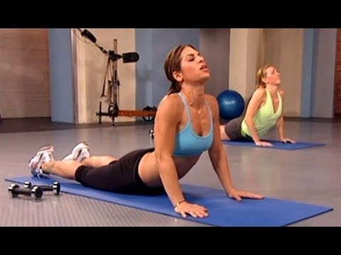 """Jillian Michaels: No More Trouble Zones Workout- Stretching Cool Down is a soothing stretching series and the final exercise from the """"No More Trouble Zones"""" Fitness DVD that is designed to lengthen muscle, lubricate the joints, and maximize workout results. Boost your energy levels, increase flexibility, and prevent injury with America's Toughe..."""
