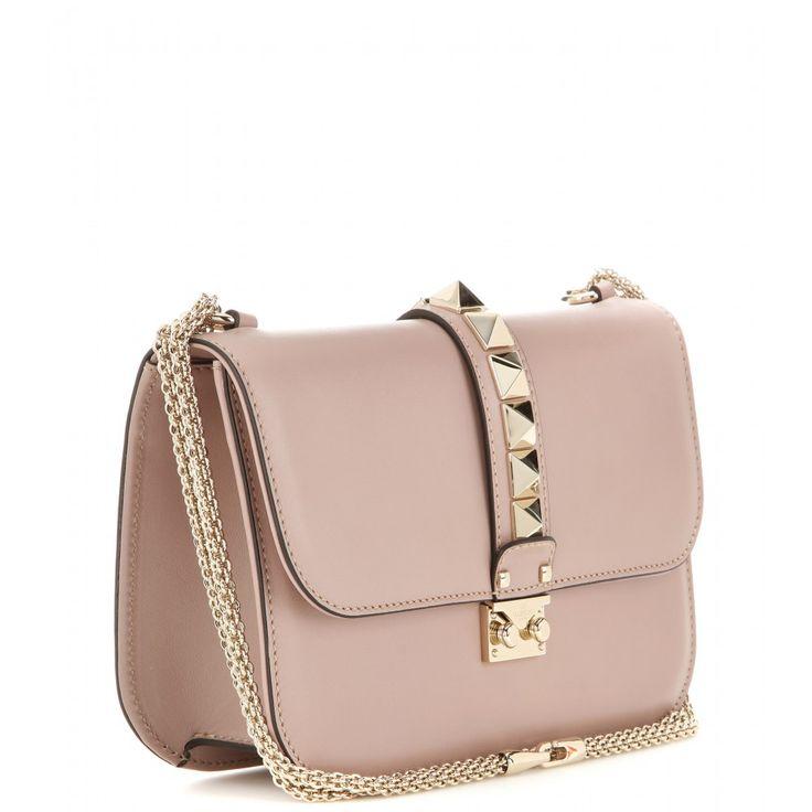 mytheresa.com - Sac à bandoulière en cuir Lock Medium - Sacs - Valentino - Créateurs - Luxe et Mode pour femme - Vêtements, chaussures et sacs de créateurs internationaux