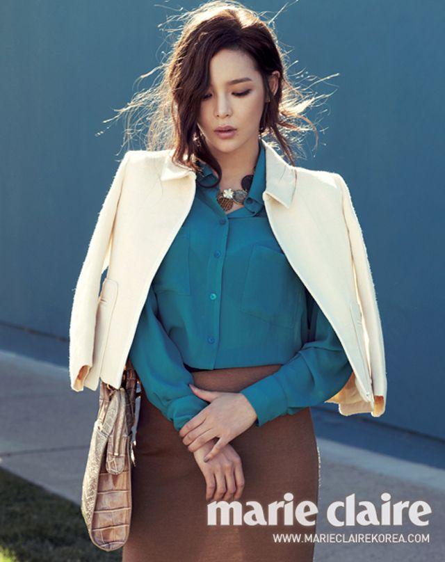 Park Si Yeon - Marie Claire Magazine