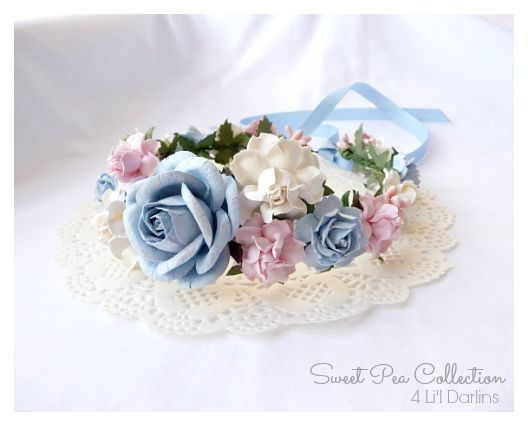 Baby Blossom Flower Crown-flower crown, floral halo,