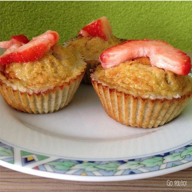 Muffins van ei en banaan