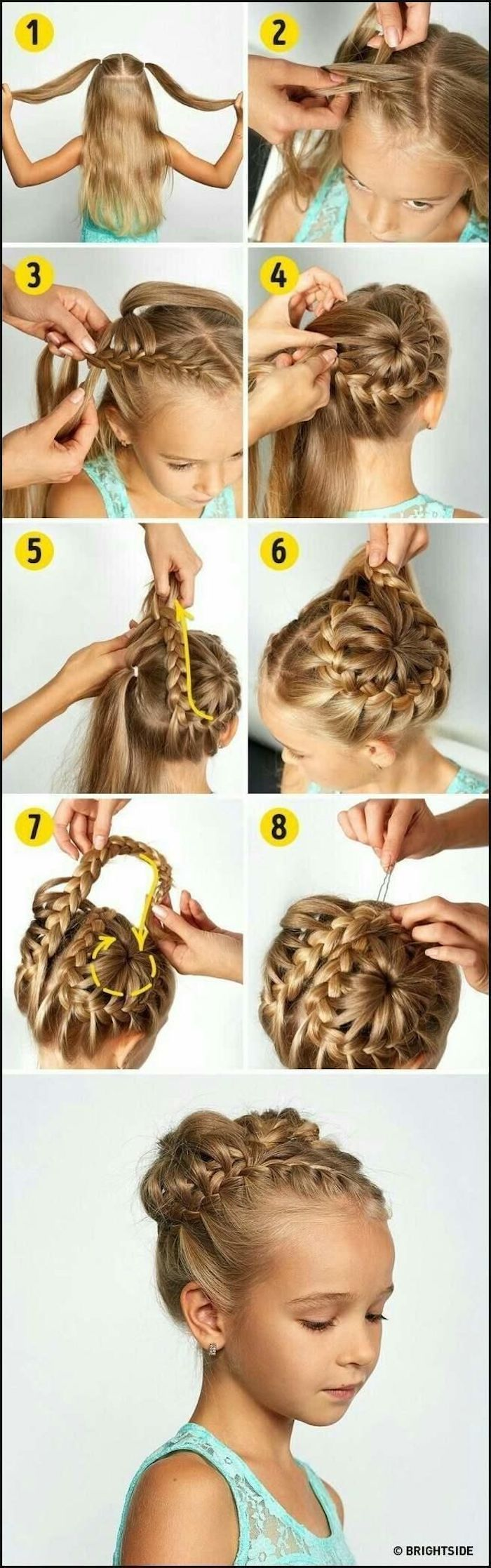 Braid Hairstyles For Kids White - Hair Designs, Famele and ...