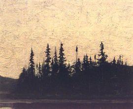 Tom Thomson Sunset Canoe lake