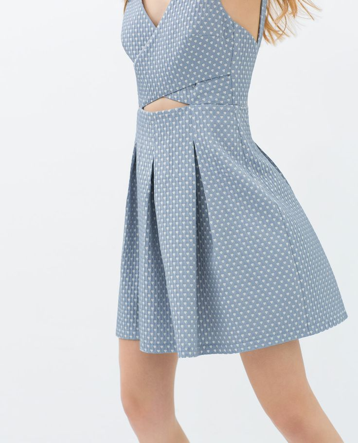 JACQUARD DRESS from Zara