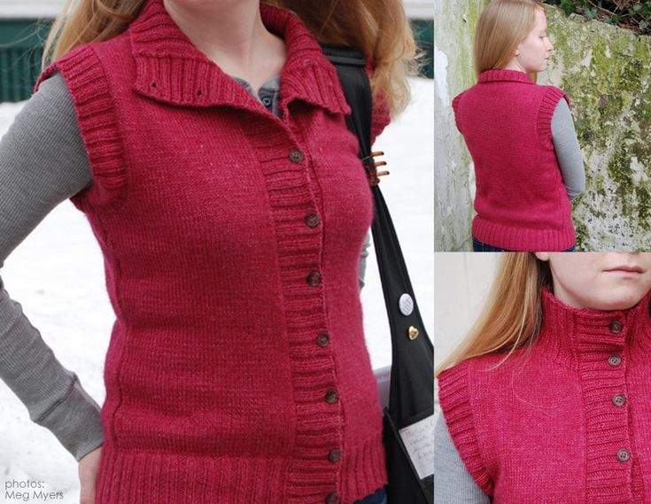 17 Best images about Vests on Pinterest Vests, Free pattern and Knitwear