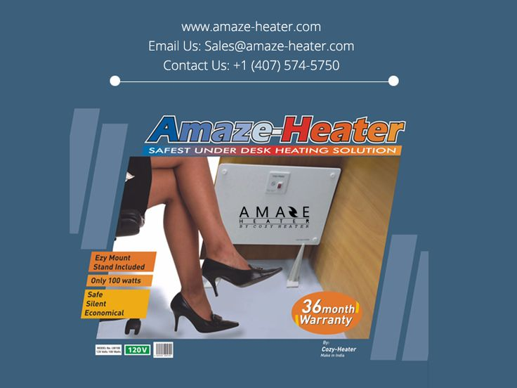 Amaze Heater Introduces Their New Innovative Under Desk Heaters. These  Heaters Are The Safest And Most Economical Heaters That Are Perfect For  Offiu2026