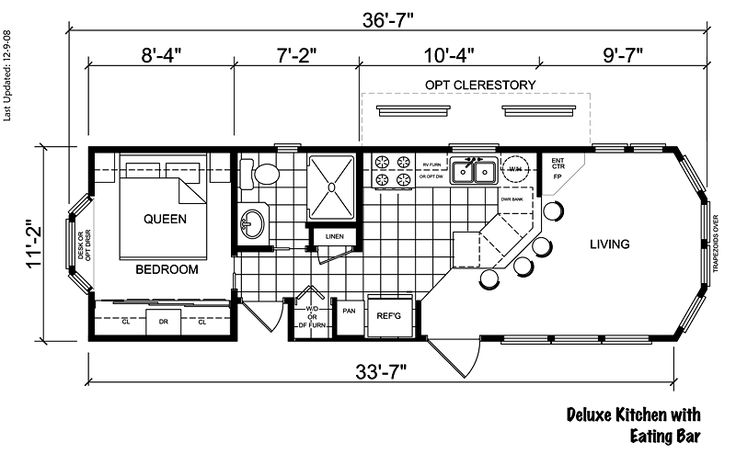 Tiny Home Designs: Park Model Plans 16x40