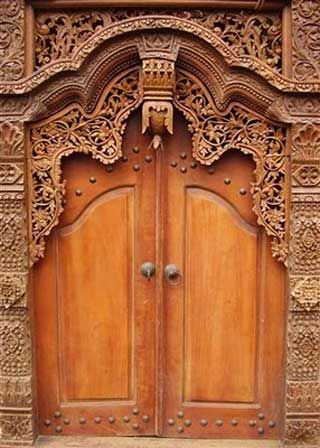 carved-wood-doors