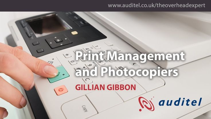 How do you run office printers and photocopiers efficiently?  Gillian Gibbon, an Auditel Cost Management consultant, digs into how to tame the cost of printing.