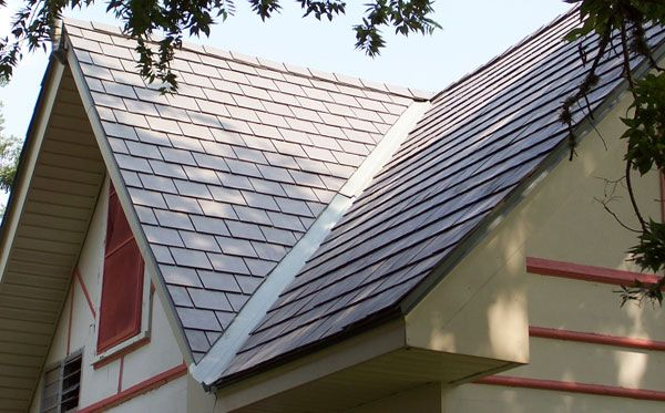 11 best slate roofing images on pinterest slate roof for Fiber cement composite roofing slate style