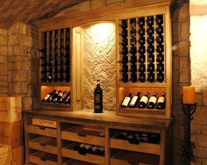 Wine Cellars Of The French Tradition, Traditional Wine Cellar, Los Angeles