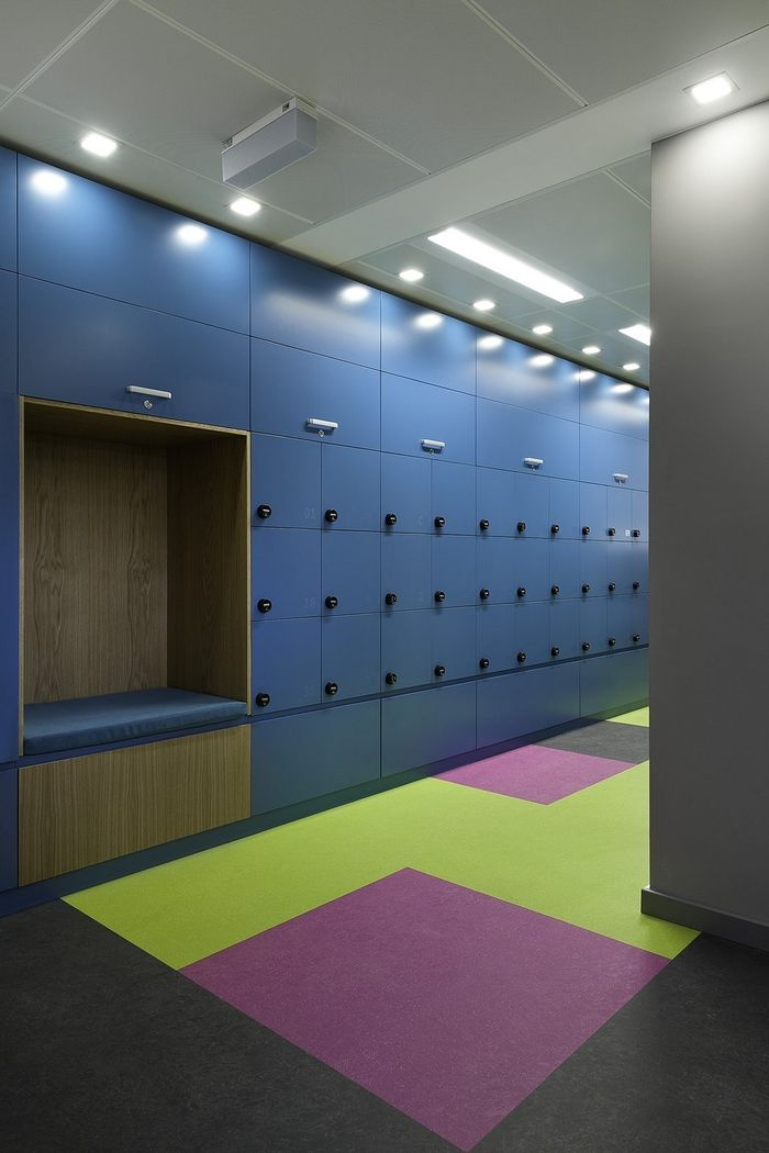locker rooms locker design office lockers changing room niches the gym