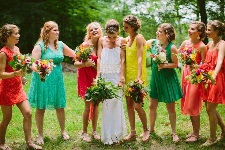 whimsical michigan wedding // photo by Jill DeVries via ruffledblog.com