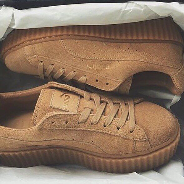 rihanna x puma creepers yay or nay sneaky bitch pinterest puma creepers creepers and pumas. Black Bedroom Furniture Sets. Home Design Ideas