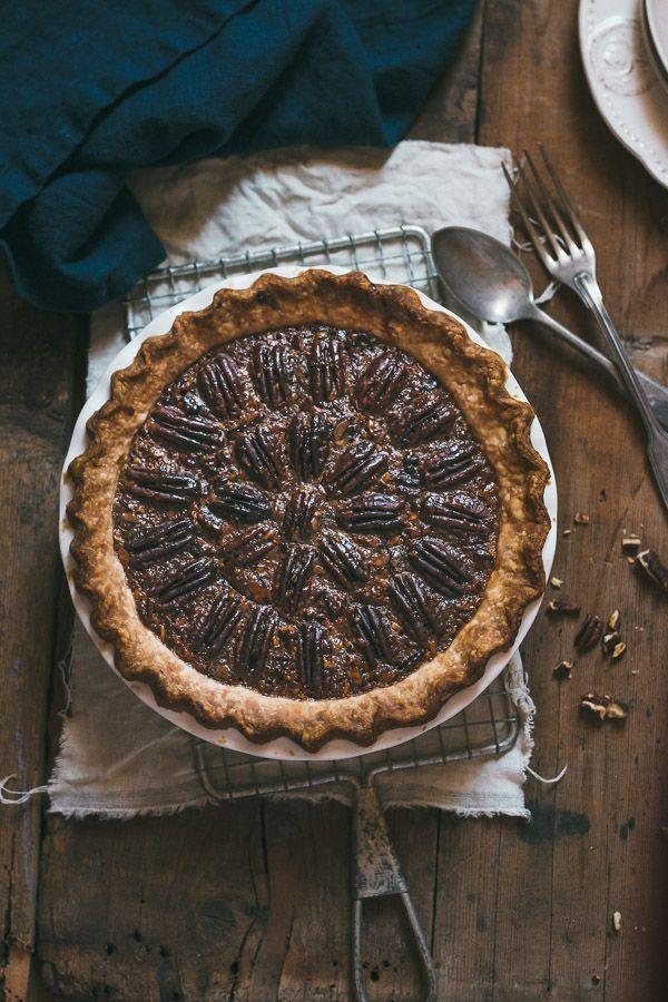 ... gooey, crunchy, and full of flavor classic pecan pie ...