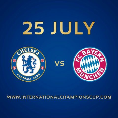 Chelsea will take on Bayern Munich in the fixture of ICC, 2017. Where to watch live streaming? Who w