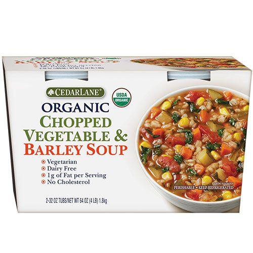 Cedar Lane Organic Vegetable And Barley Soup