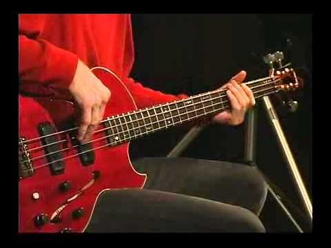 Billy Sheehan Basic Bass lesson - YouTube