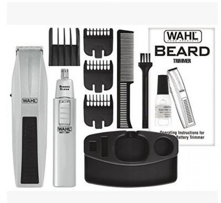 💪💪💪💪💪Wahl High-carbon mustache and beard Wahl product  Price: 96.25 & FREE Shipping  #hashtag4