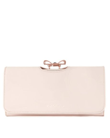 Lindar Crystal bow bobble matinee - Nude Pink | Purses | Ted Baker  £75