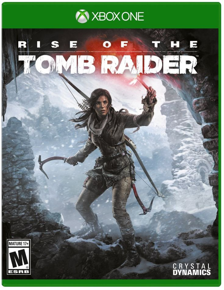 Rise of the Tomb Raider front cover