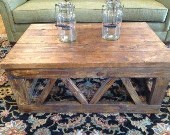 artisan farmhouse coffee table