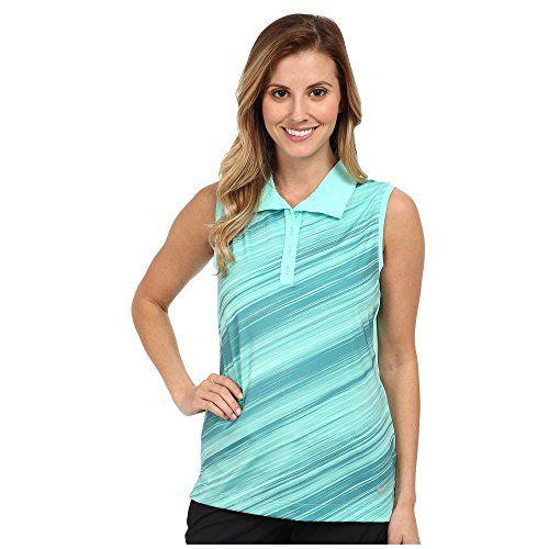 (ナイキ) Nike Golf レディース トップス ポロシャツ Speed Stripe Sleeveless Polo 並行輸入品  新品【取り寄せ商品のため、お届けまでに2週間前後かかります。】 表示サイズ表はすべて【参考サイズ】です。ご不明点はお問合せ下さい。 カラー:Hyper Turquoise/Metallic Silver 詳細は http://brand-tsuhan.com/product/%e3%83%8a%e3%82%a4%e3%82%ad-nike-golf-%e3%83%ac%e3%83%87%e3%82%a3%e3%83%bc%e3%82%b9-%e3%83%88%e3%83%83%e3%83%97%e3%82%b9-%e3%83%9d%e3%83%ad%e3%82%b7%e3%83%a3%e3%83%84-speed-stripe-sleeveless-polo/