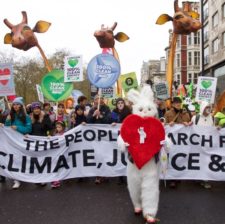 Here's What We Saw at the Huge London Protest Demanding Action on Climate Change | VICE News