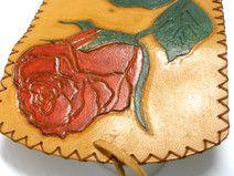 Rose Engrave tobacco bag