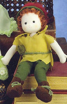 Peter Pan Doll | Sundays Child
