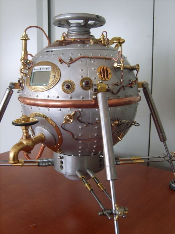 I need this Steampunk beverage dispenser for my cold brewed coffee!