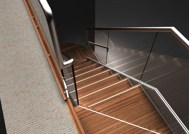 Stainless Steel Feature Staircase
