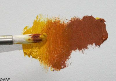 How to Create a Color Run for Mixing Paint Colors