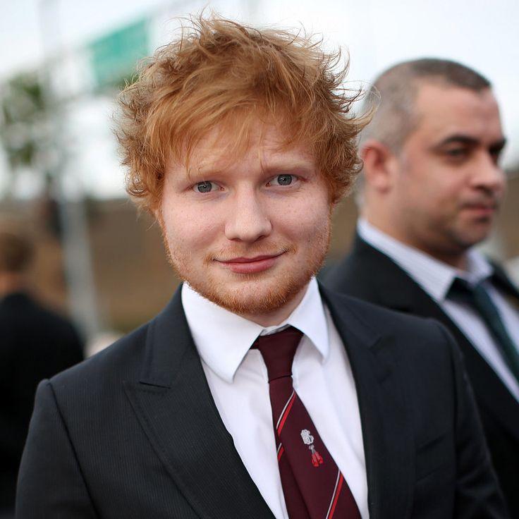 I got Ed Sheeran