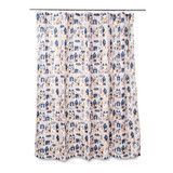 Village Shower Curtain with Rings by Citta Design | Citta Design Australia $29