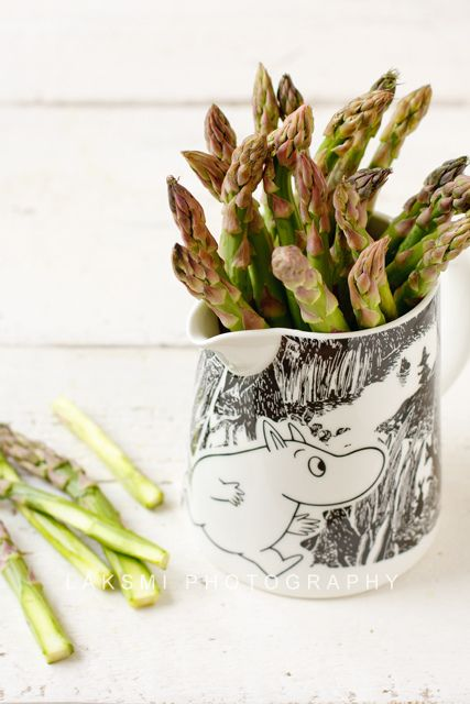 a. i'll take the asparagus you can have the moomin jug