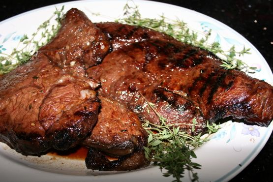 Make and share this Marinated Top Sirloin Steaks recipe from Food.com.