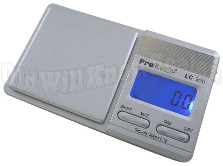 The ProScale LC-300 Digital Pocket Scale has a 300 gram capacity with a resolution of 0.1 gram, and also weighs in 3 other units. This mini scale has a bright backlit display, tare feature and calibration mode. Included are a Vibrakill pad and...