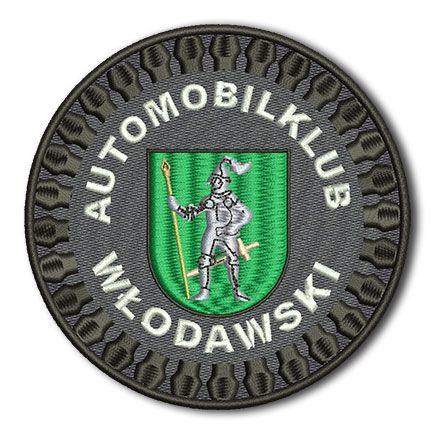 Naszywka Automobilklub Włodawski